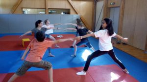 Yoga Enfant Combatant