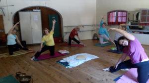 Yoga Mareschale Etiré